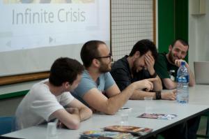 """מהפאנל """"מדברים ומתווכחים קומיקס"""" הראשון בעולמות 2012"""