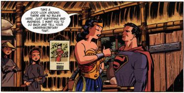 """""""אני יותר גבוהה ממך, קלארק, כי פמיניזם"""""""
